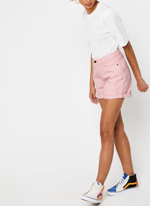 Vêtements Vila Knit Vichassa Blanc vue bas / vue portée sac