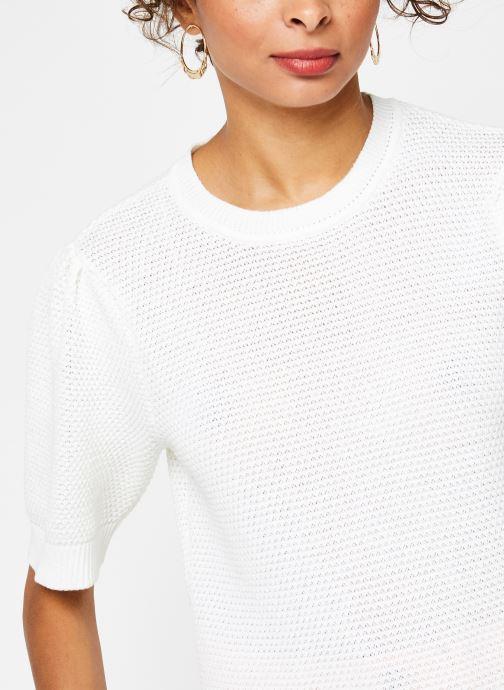 Vêtements Vila Knit Vichassa Blanc vue face