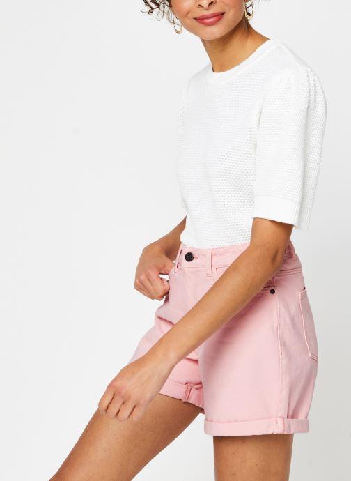 Vêtements Vila Knit Vichassa Blanc vue détail/paire