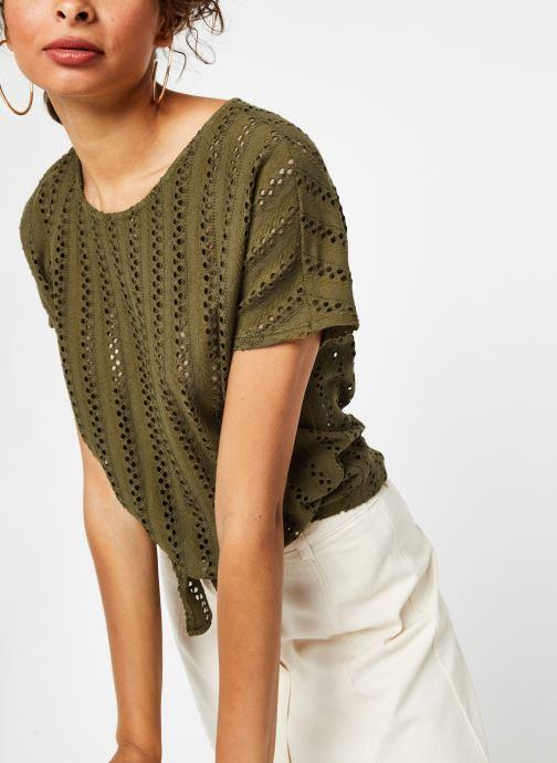 Vêtements Vila Tops Vipiline Vert vue droite