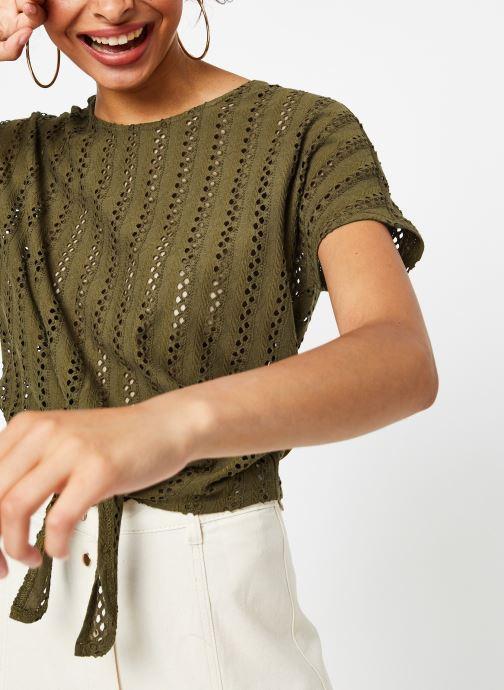 Vêtements Vila Tops Vipiline Vert vue détail/paire