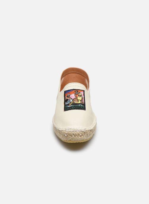 Espadrilles Pare Gabia LA SOULE Beige vue portées chaussures