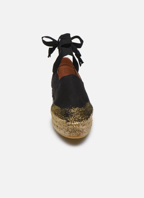 Espadrilles Pare Gabia LA FÉE Noir vue portées chaussures