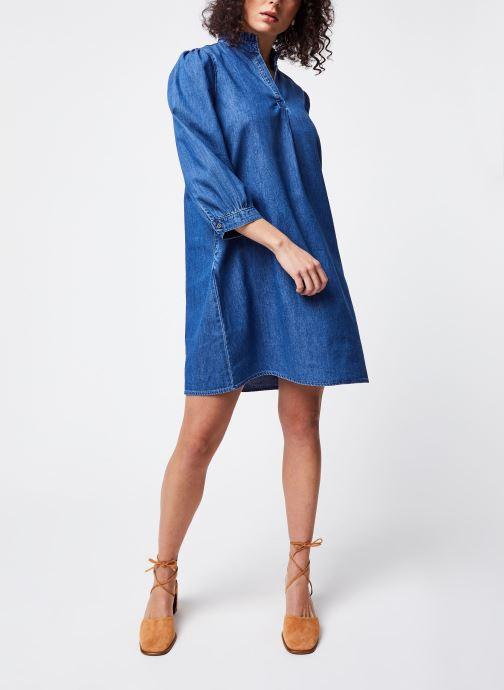 Vêtements Vila Short Dresses VITYKA Bleu vue bas / vue portée sac