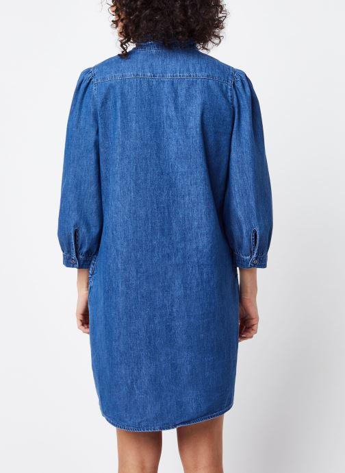 Vêtements Vila Short Dresses VITYKA Bleu vue portées chaussures