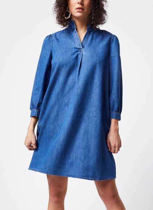 Vêtements Vila Short Dresses VITYKA Bleu vue droite