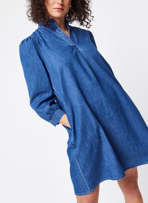 Vêtements Vila Short Dresses VITYKA Bleu vue détail/paire