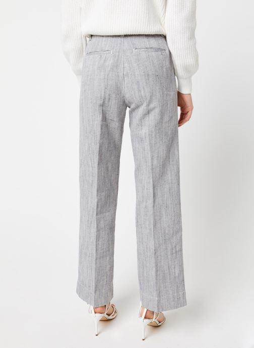 Vêtements Bensimon Pantalon Domitie Gris vue portées chaussures