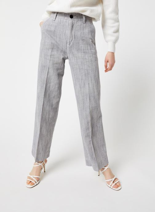 Vêtements Bensimon Pantalon Domitie Gris vue détail/paire