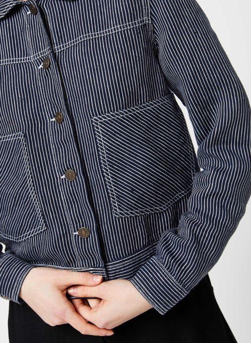 Vêtements Bensimon Veste Indaca Bleu vue face