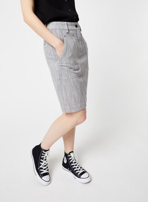 Vêtements Bensimon Jupe Chane Bleu vue détail/paire
