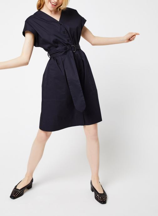 Vêtements Bensimon Robe Dulcie Bleu vue bas / vue portée sac