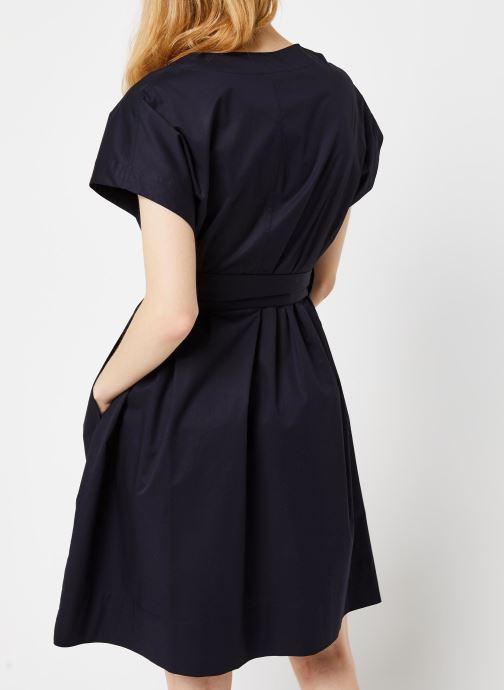 Vêtements Bensimon Robe Dulcie Bleu vue portées chaussures