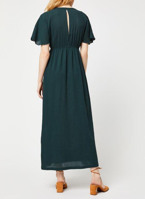 Vêtements Bensimon Robe Boria Vert vue portées chaussures