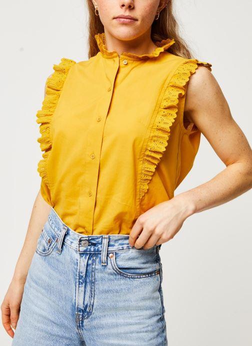 Vêtements Bensimon Chemise Daline Jaune vue droite
