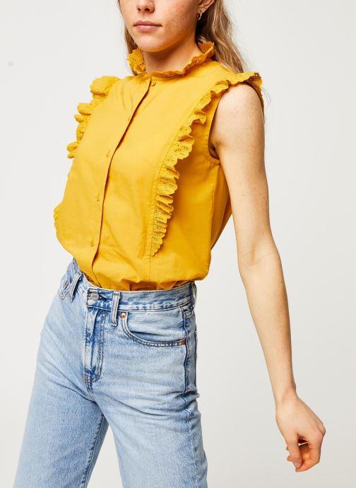 Vêtements Bensimon Chemise Daline Jaune vue détail/paire