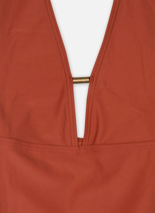 Vêtements Pieces Swimwear Pcnaba Swimsuit Sww Marron vue face