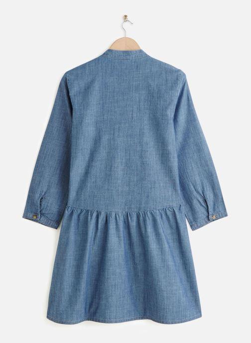 Vêtements Vero Moda Vmamanda Denim Tunic Bleu vue bas / vue portée sac