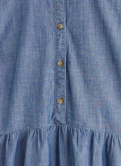Vêtements Vero Moda Vmamanda Denim Tunic Bleu vue portées chaussures