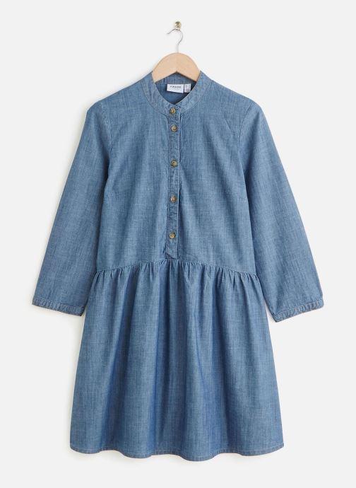 Vêtements Vero Moda Vmamanda Denim Tunic Bleu vue détail/paire
