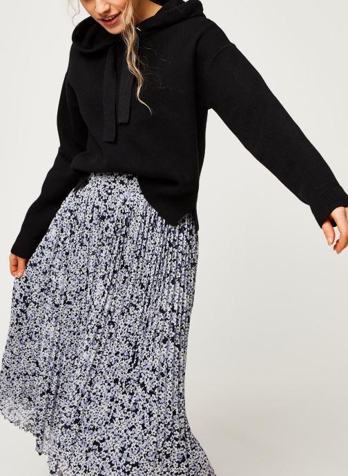 Vêtements Vero Moda Vmloungenew Hood Blouse Noir vue détail/paire
