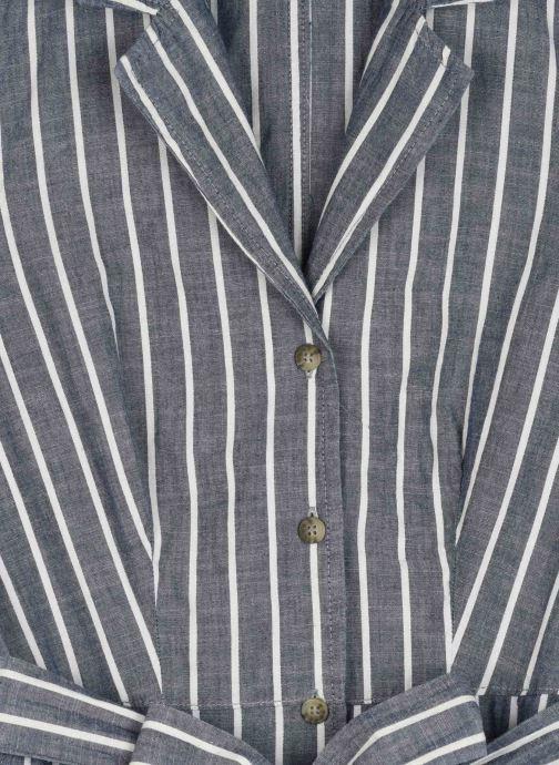 Vêtements Vero Moda Vmsandy Button Short Dress Bleu vue face