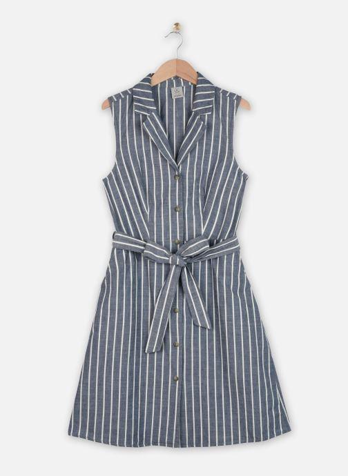 Vêtements Vero Moda Vmsandy Button Short Dress Bleu vue détail/paire