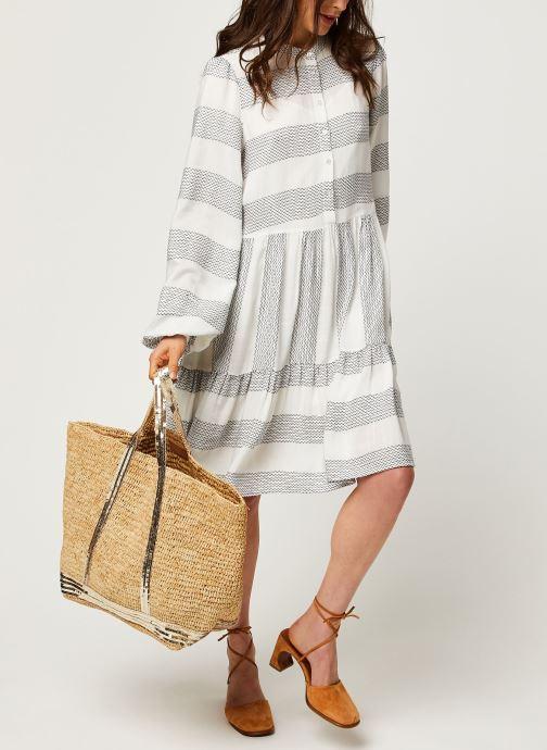 Vêtements Y.A.S YASLAMALI SHORT DRESSES Blanc vue bas / vue portée sac