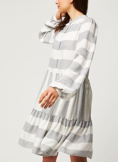 Vêtements Y.A.S YASLAMALI SHORT DRESSES Blanc vue droite