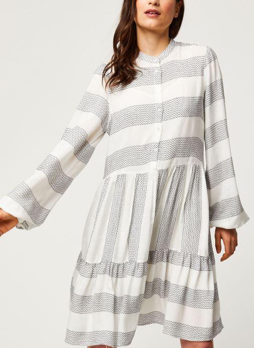 Vêtements Y.A.S YASLAMALI SHORT DRESSES Blanc vue détail/paire