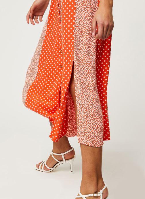 Vêtements Y.A.S YASTIARA LONG SKIRTS Orange vue face