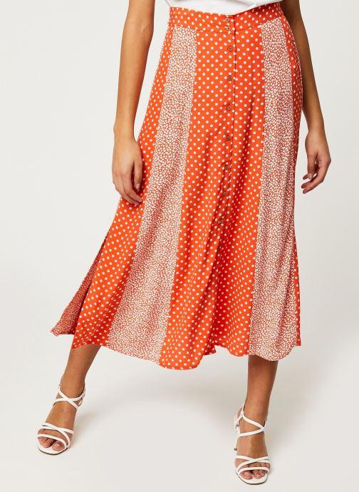 Vêtements Y.A.S YASTIARA LONG SKIRTS Orange vue détail/paire