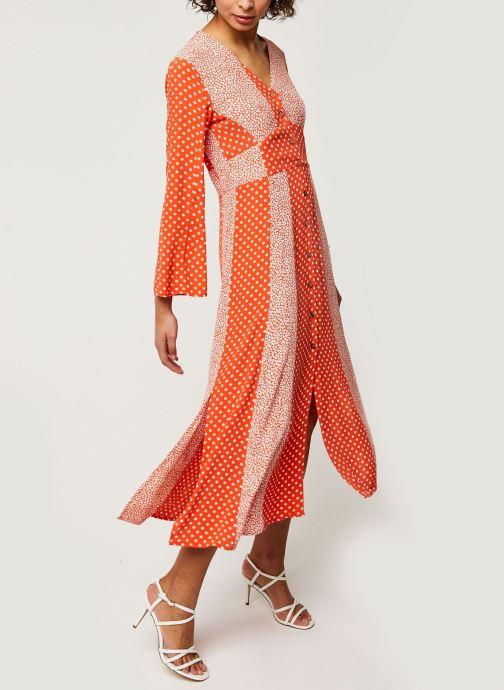 Vêtements Y.A.S YASTIARA SHORT DRESSES Orange vue bas / vue portée sac