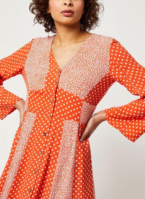 Vêtements Y.A.S YASTIARA SHORT DRESSES Orange vue face