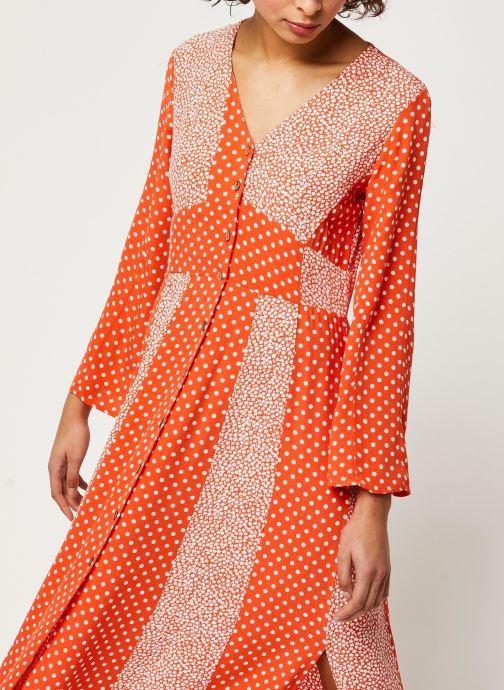 Vêtements Y.A.S YASTIARA SHORT DRESSES Orange vue droite