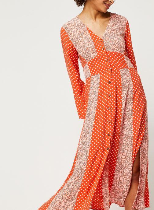 Vêtements Y.A.S YASTIARA SHORT DRESSES Orange vue détail/paire