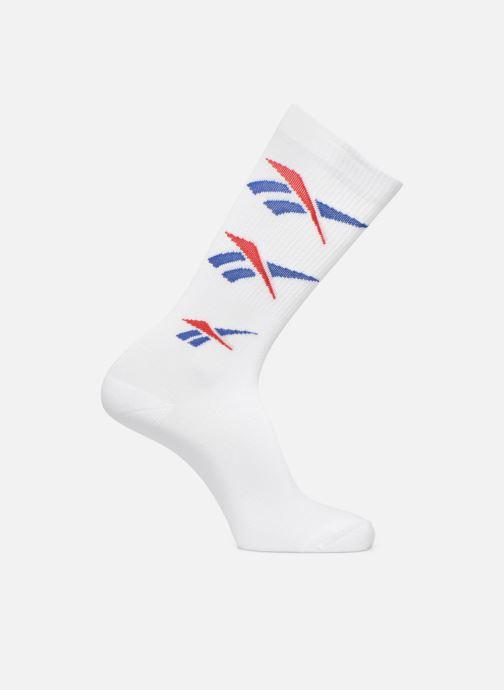 Chaussettes et collants Reebok CL Repeat Vector Sock Blanc vue détail/paire