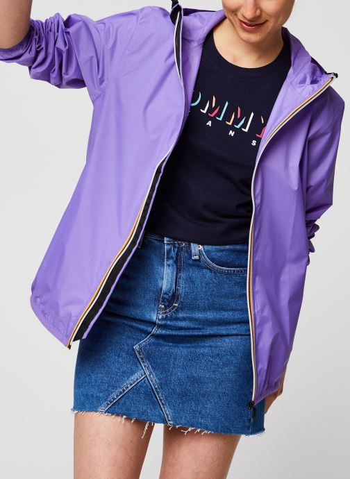 Vêtements K-Way  Veste Le Vrai 3.0 Claude Violet vue détail/paire