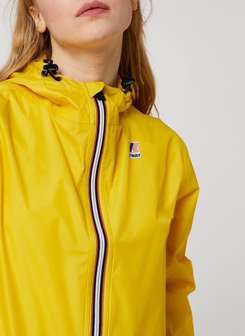 Vêtements K-Way  Veste Le Vrai 3.0 Claude Jaune vue face