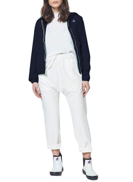 Vêtements K-Way  Veste Lily Poly Jersey Bleu vue face
