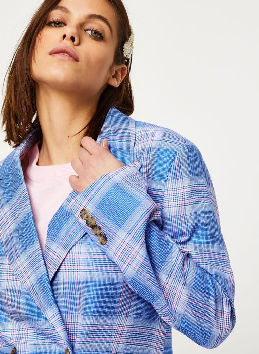 Vêtements Essentiel Antwerp Vaneyck double breasted blazer Bleu vue face