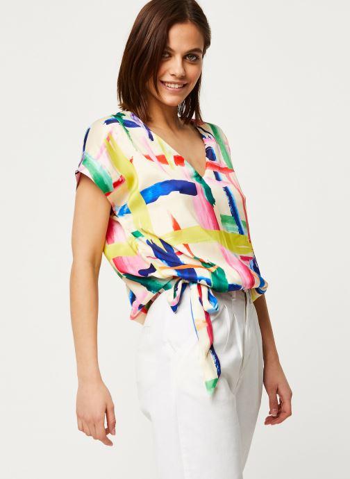 Kleding Essentiel Antwerp Veda T-shirt Multicolor detail