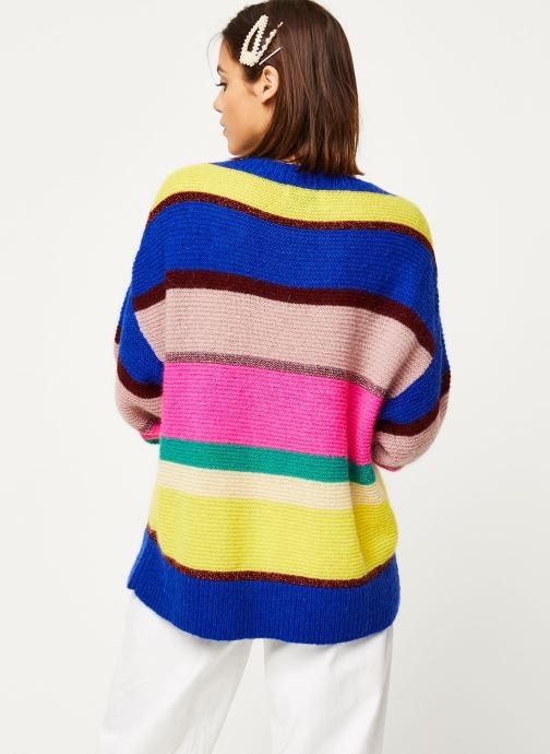 Vêtements Essentiel Antwerp Virtuosa knitwear Multicolore vue portées chaussures