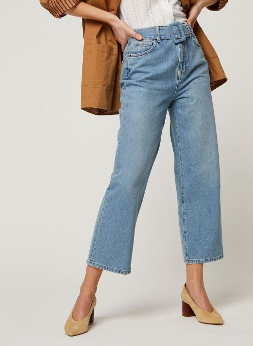 Vêtements MOSS COPENHAGEN Jean Kaela Bleu vue détail/paire