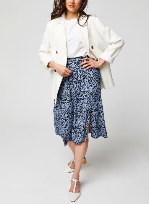 Vêtements MOSS COPENHAGEN Jupe Celina Bleu vue bas / vue portée sac