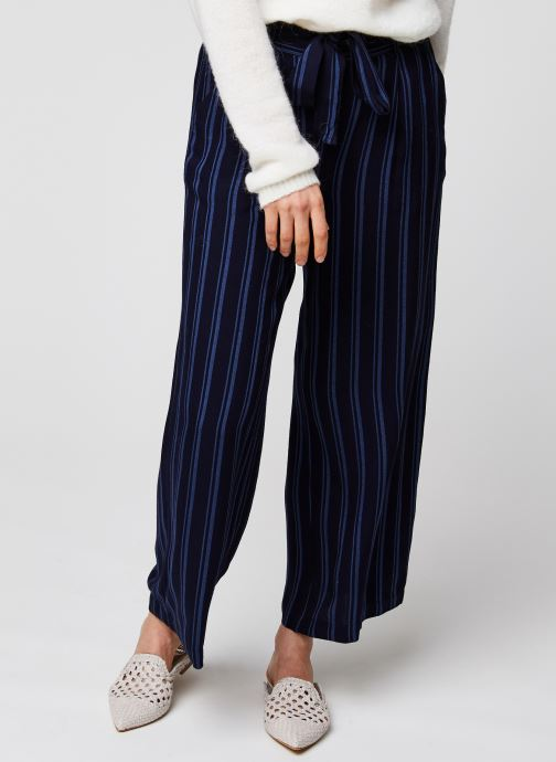 Kleding MOSS COPENHAGEN Pantalon Panille Blauw detail
