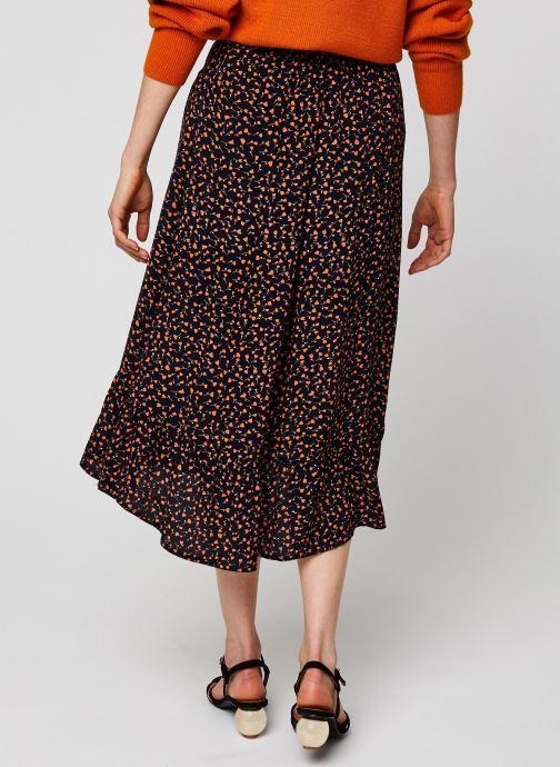 Vêtements MOSS COPENHAGEN Jupe Milana Noir vue portées chaussures
