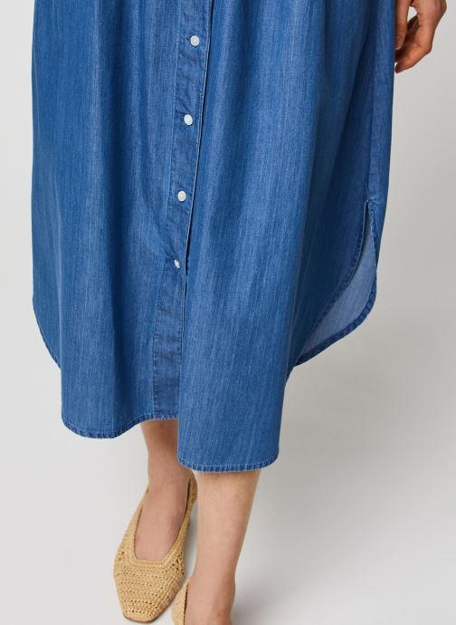 Vêtements MOSS COPENHAGEN Jupe Lyanna Bleu vue face