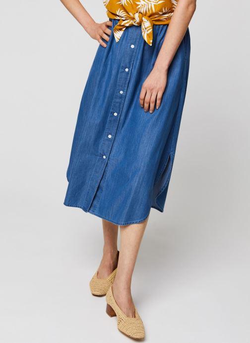 Vêtements MOSS COPENHAGEN Jupe Lyanna Bleu vue détail/paire