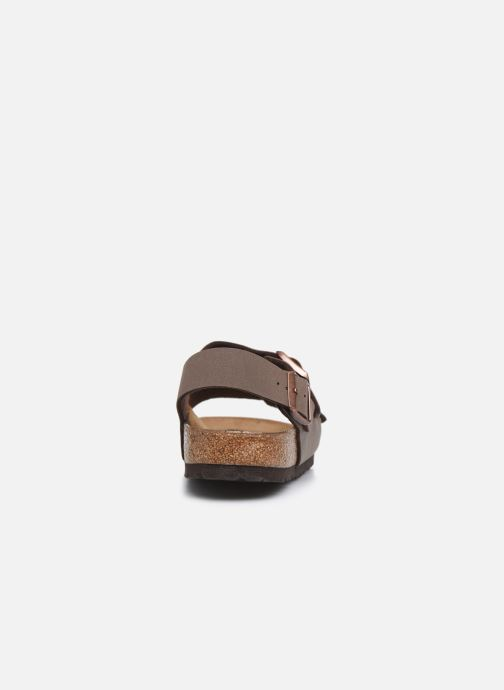 Sandales et nu-pieds Birkenstock Milano Marron vue droite